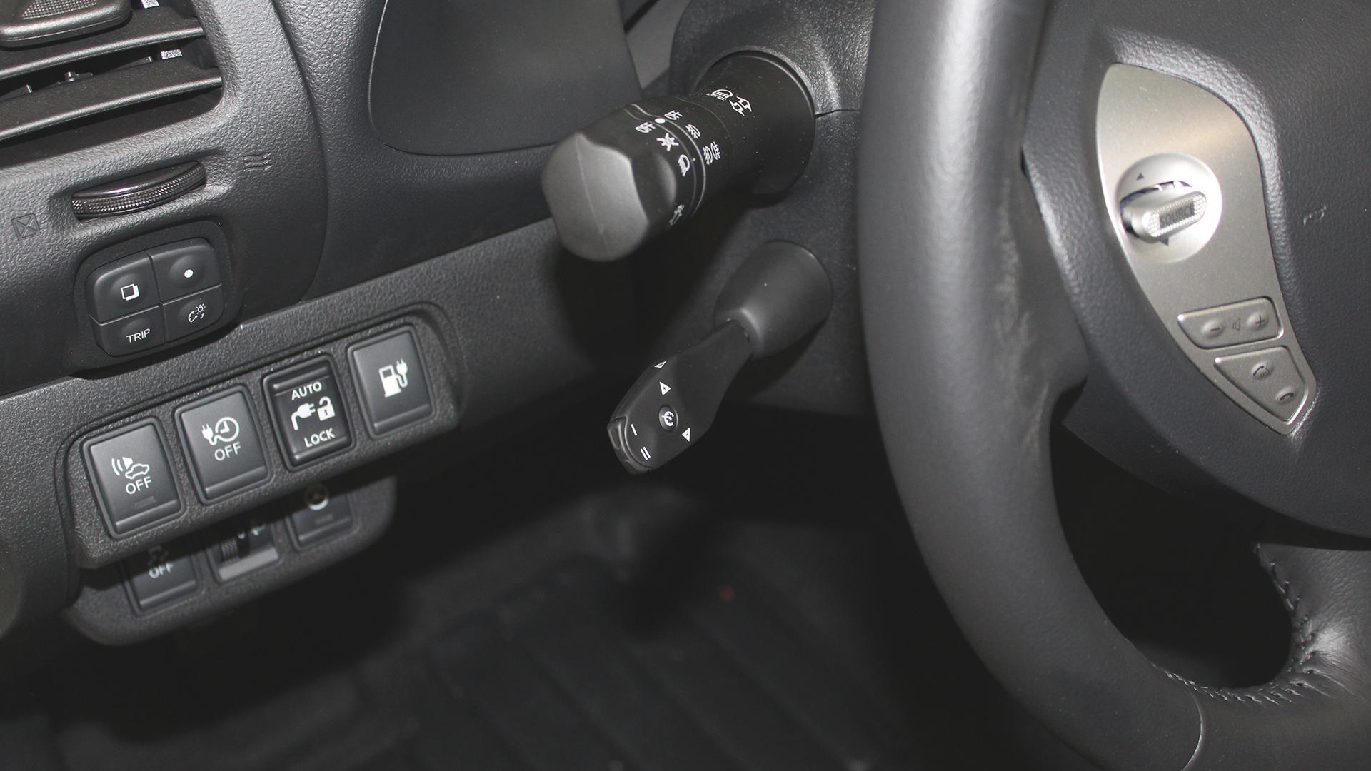 Nissan Leaf tempomat kar