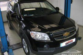 Chevrolet Captiva 2007 – Tempomat beszerelés
