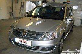 Dacia Logan MCV 2013 – Tempomat beszerelés