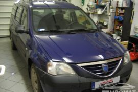 Dacia Logan – Tempomat beszerelés