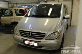 Mercedes-Benz Viano (W639) 2004 – Tempomat beszerelés