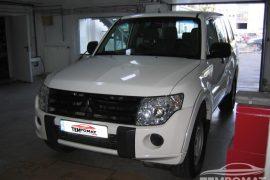 Mitsubishi Pajero 2010 – Tempomat beszerelés