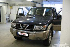 Nissan Patrol 2001 – Tempomat beszerelés