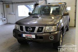 Nissan Patrol 2005 – Tempomat beszerelés (AP500)
