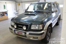 Opel Monterey 1998 – Tempomat beszerelés (AP500)