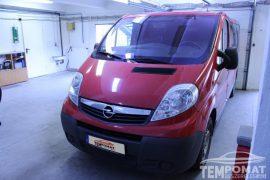 Opel Vivaro 2011 – Tempomat beszerelés (AP900)