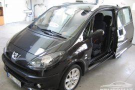 Peugeot 1007 – Tempomat beszerelés