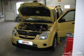Suzuki Ignis 2004 – Tempomat beszerelés