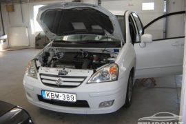 Suzuki Liana 2005 – Tempomat beszerelés