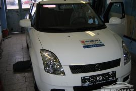 Suzuki Swift 2006 – Cruise control installation
