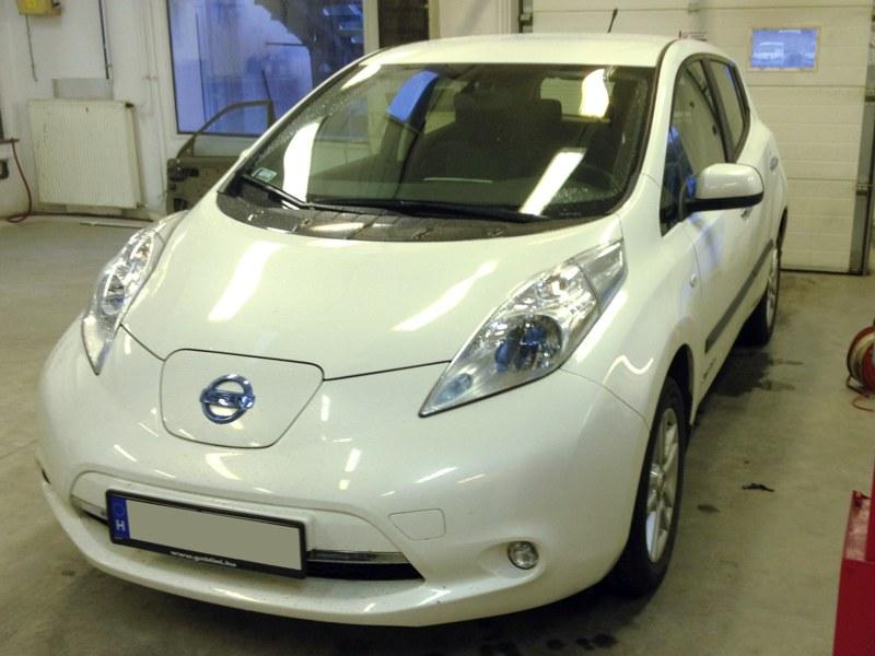 tempomat beszerelés utólag Nissan Leaf