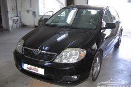 Toyota Corolla 2005 – Tempomat beszerelés (AP900, CM7, CM8)