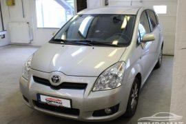 Toyota Corolla Verso 2008 – Tempomat beszerelés