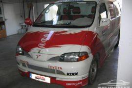 Toyota Hiace – Tempomat beszerelés