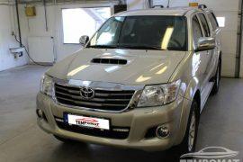 Toyota Hilux 2015 – Tempomat beszerelés (AP900)