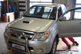 Toyota Hilux – Tempomat beszerelés