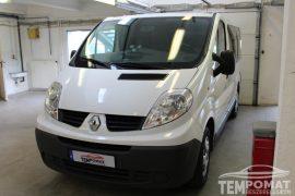 Renault Trafic 2011 – Tempomat beszerelés (AP900C)