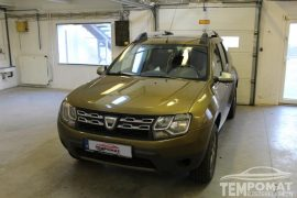 Dacia Duster 2016 – Tempomat beszerelés