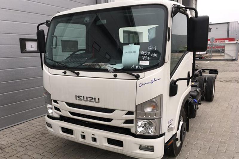 Plug'n'Play tempomat ISUZU N-szériás teherautókhoz