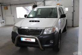 Toyota Hilux 2013 – Tempomat beszerelés