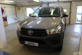 Toyota Hilux 2017 – Tempomat beszerelés