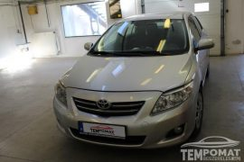 Toyota Corolla 2008 – Tempomat beszerelés