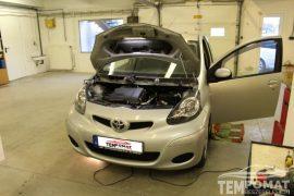 Toyota Aygo 2011 – Tempomat beszerelés