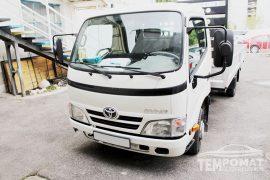 Toyota Dyna 2012 – Tempomat beszerelés (AP900)