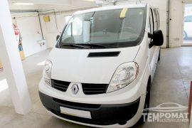 Renault Trafic 2013 – Tempomat beszerelés
