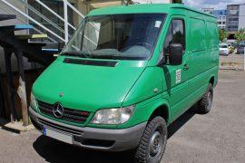 Mercedes-Benz Sprinter (W903.6) 2005 – Tempomat beszerelés (AP900C)