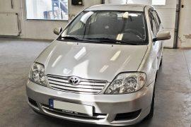 Toyota Corolla 2006 – Tempomat beszerelés (AP500, CM35)