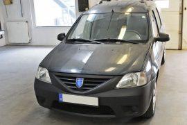 Dacia Logan 2007 – Tempomat beszerelés (AP500)