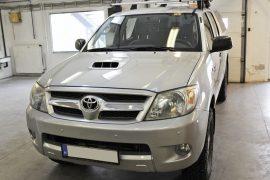 Toyota Hilux 2009 – Tempomat beszerelés (AP900)