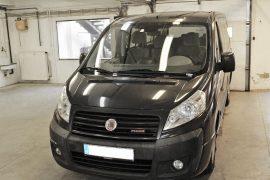 Fiat Scudo 2007 – Tempomat beszerelés (AP900C)