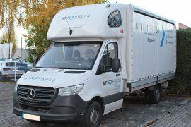 Mercedes-Benz Sprinter (907) 2018 – Tempomat beszerelés (AP900Ci)