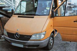 Mercedes-Benz Sprinter 2001 (903) – Tempomat beszerelés (AP900)