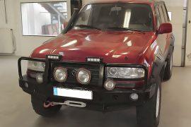Toyota Land Cruiser 100 1992 – Tempomat beszerelés (AP500)