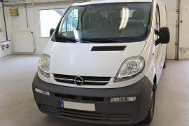 Opel Vivaro 2006 – Tempomat beszerelés (AP900)