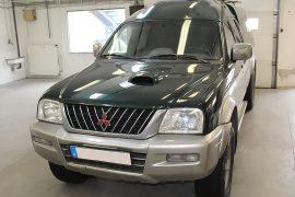 Mitsubishi L200 2004 – Tempomat beszerelés (AP900)
